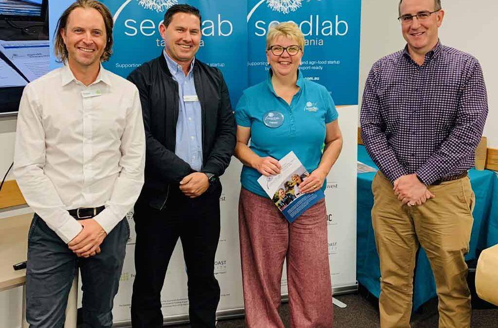 Seedlab Tasmania with Woolworths Head Office Staff